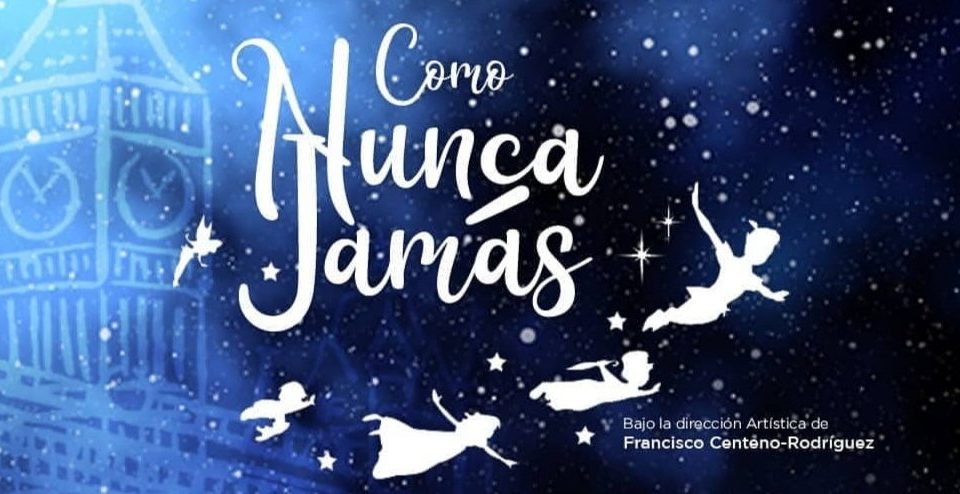 Afiche oficial COMO NUNCA JAMAS